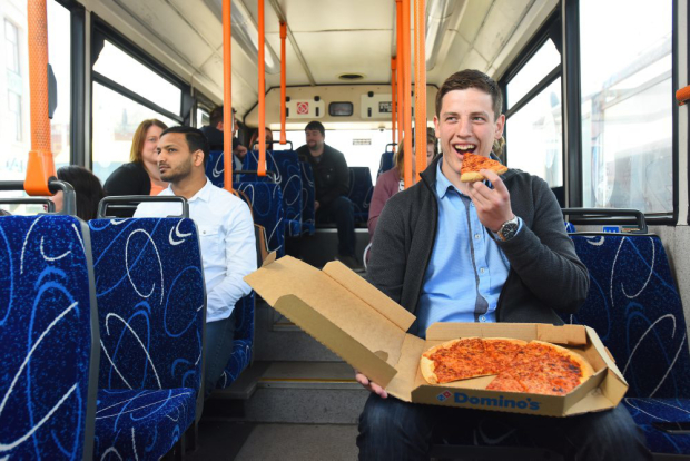 pizza bus 47 Dominos New Delivery Scheme Is Amazing News For Drunk Commuters