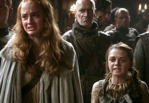 sansa and arya featured Game Of Thrones Cast Play Truth Telling Game, Drop Massive Bombshells