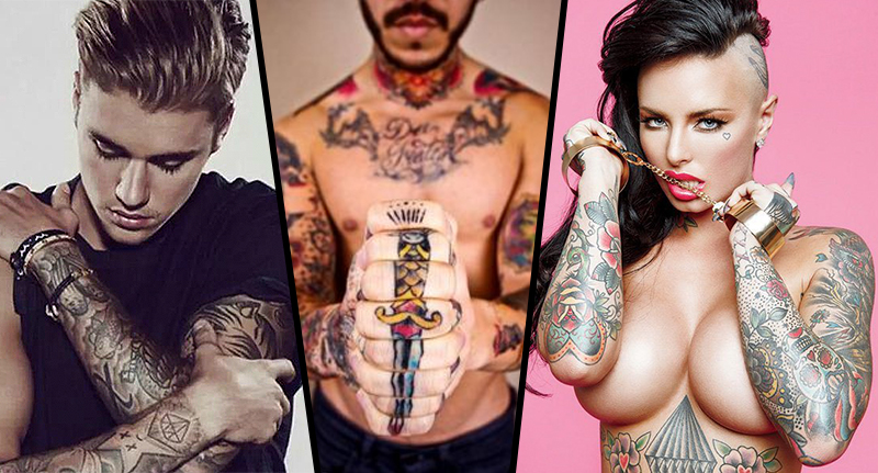 tattoos FB High Tech New Ink Could Spell The End Of Permanent Tattoos