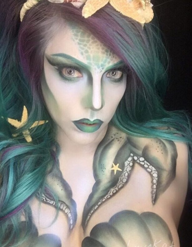 35B53EE500000578 3661606 Body paint Another Instagrammer shares her darker take on the se a 2 1467012220754