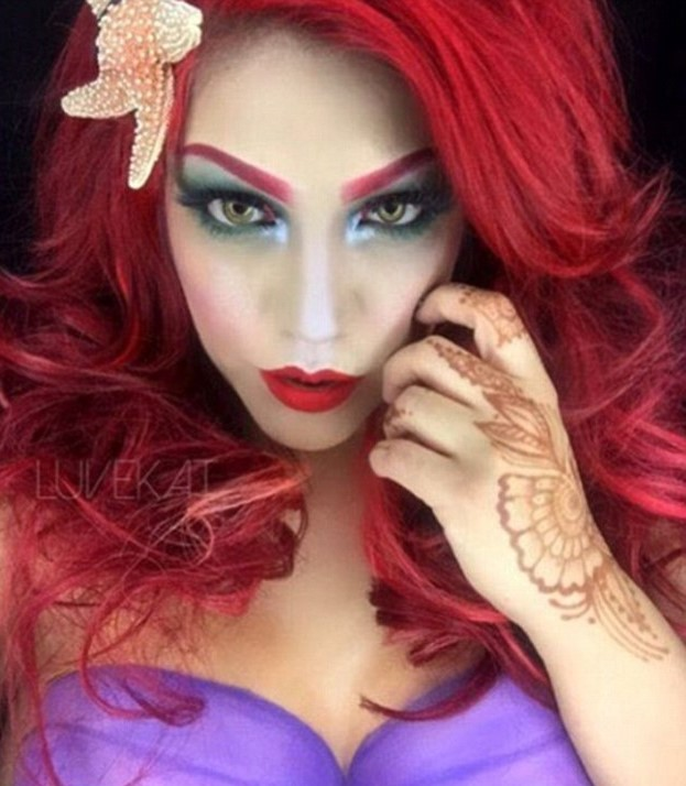 35B540E100000578 3661606 Bright red hair Copy Ariel from the Little Mermaid one of the mo a 8 1467012221650 This New Makeup Trend Is Taking Instagram By Storm