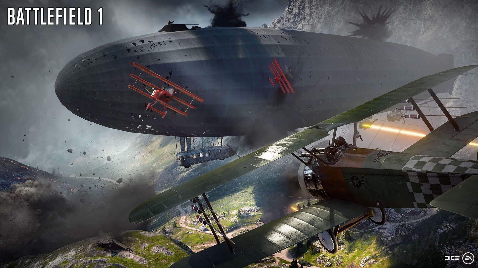 Battlefield 1 Gets Epic New Trailer And Gameplay Features BF1 EA PLAY 01 BEHEMOTH AIRSHIP WM