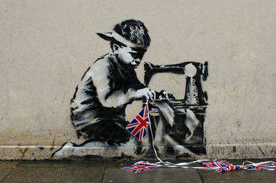 Banksy Slave Labour Mural 2012 Banksy To Finally Reveal His Identity At Todays South Bank Sky Arts Awards?