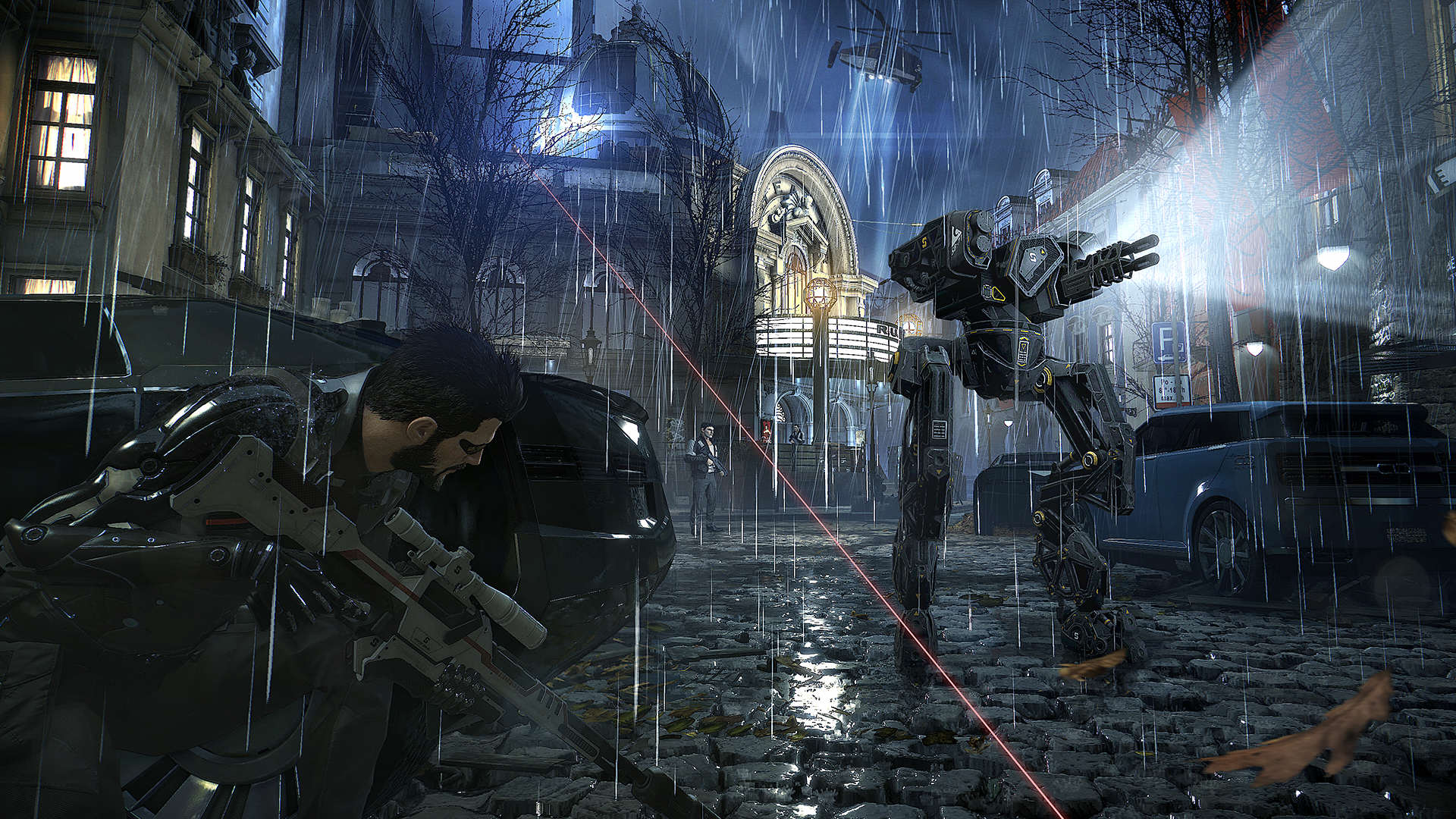 DXMD 2015 10 08 1stHandsOn screen ONLINE 024.0 Deus Ex: Mankind Divided Gameplay Livestream Airing Today