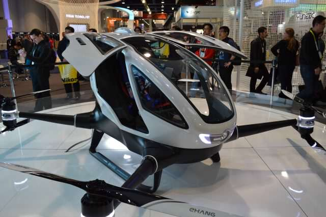 Ehang184 by ben smith 640x426 Drone Taxis Could Be A Reality Soon!
