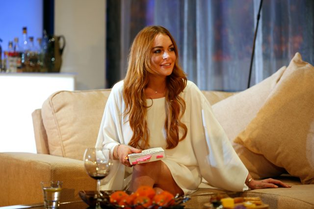 GettyImages 456395810 640x426 Lindsay Lohan Live Tweeted EU Referendum, It Went As Youd Expect