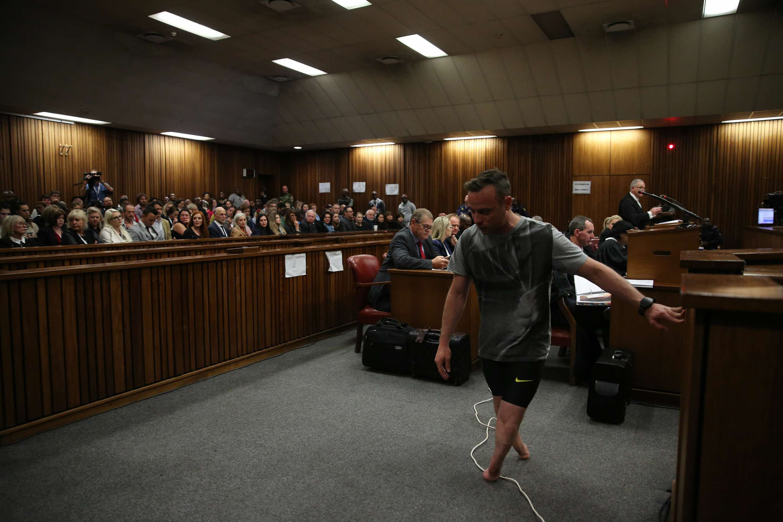 Oscar Pistorius Describes Moment He Shot Reeva Steenkamp GettyImages 540302436 1