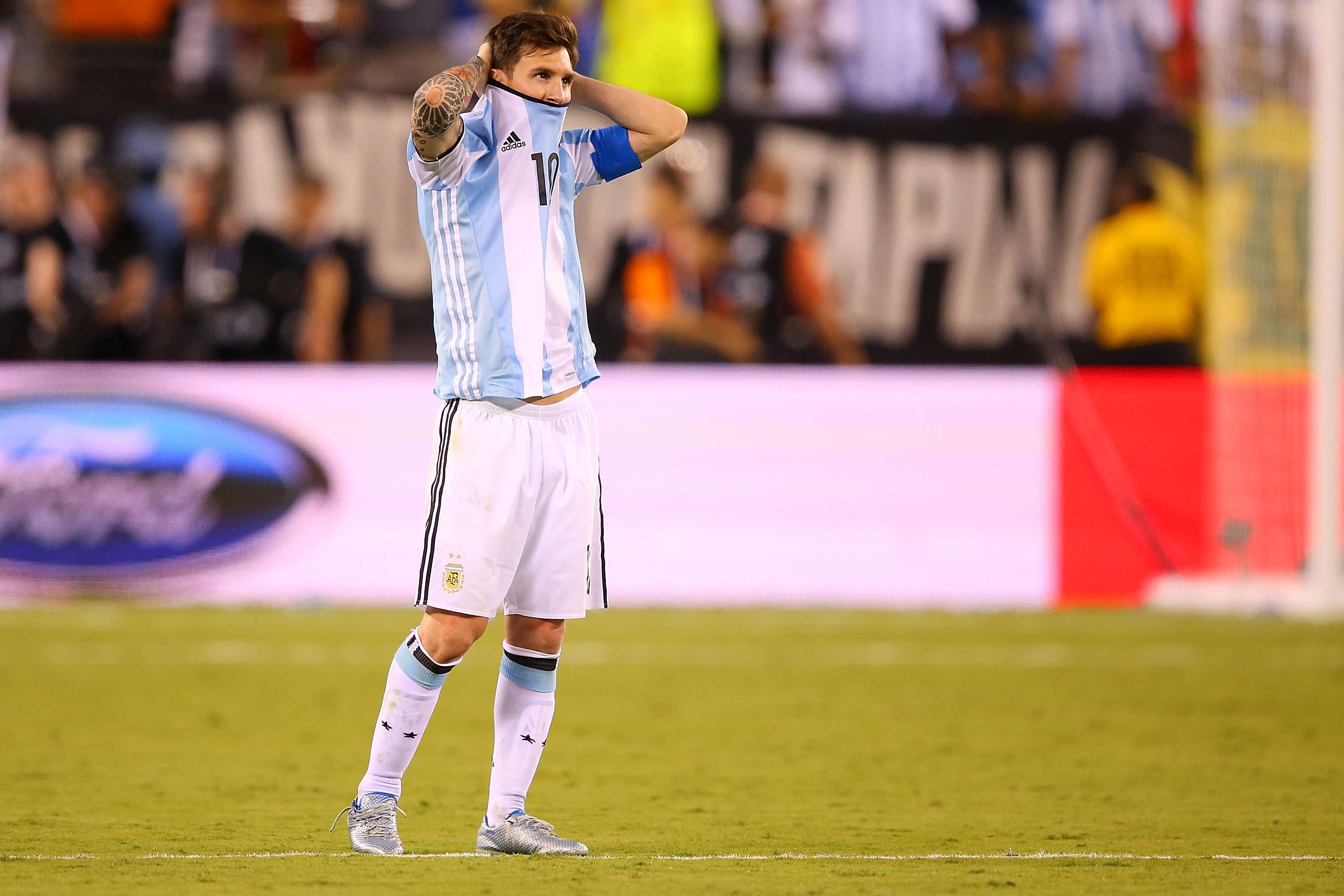 GettyImages 543252458 Lionel Messi Retires From International Football After Copa America Final Defeat
