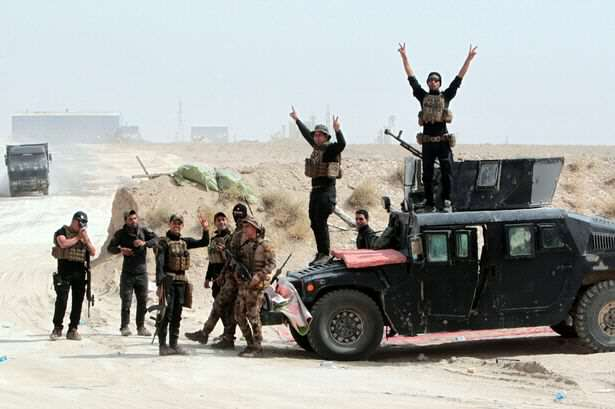 Iraqi pro government forces ISIS Suffer Massive Blow In Bid To Control Iraq, As Country Fights Back