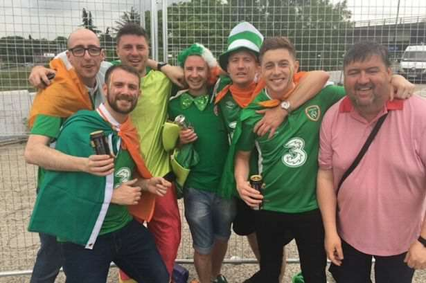 Ireland fans Ireland Fan Loses Ticket Saving Mans Life, What Happens Next Is Incredible