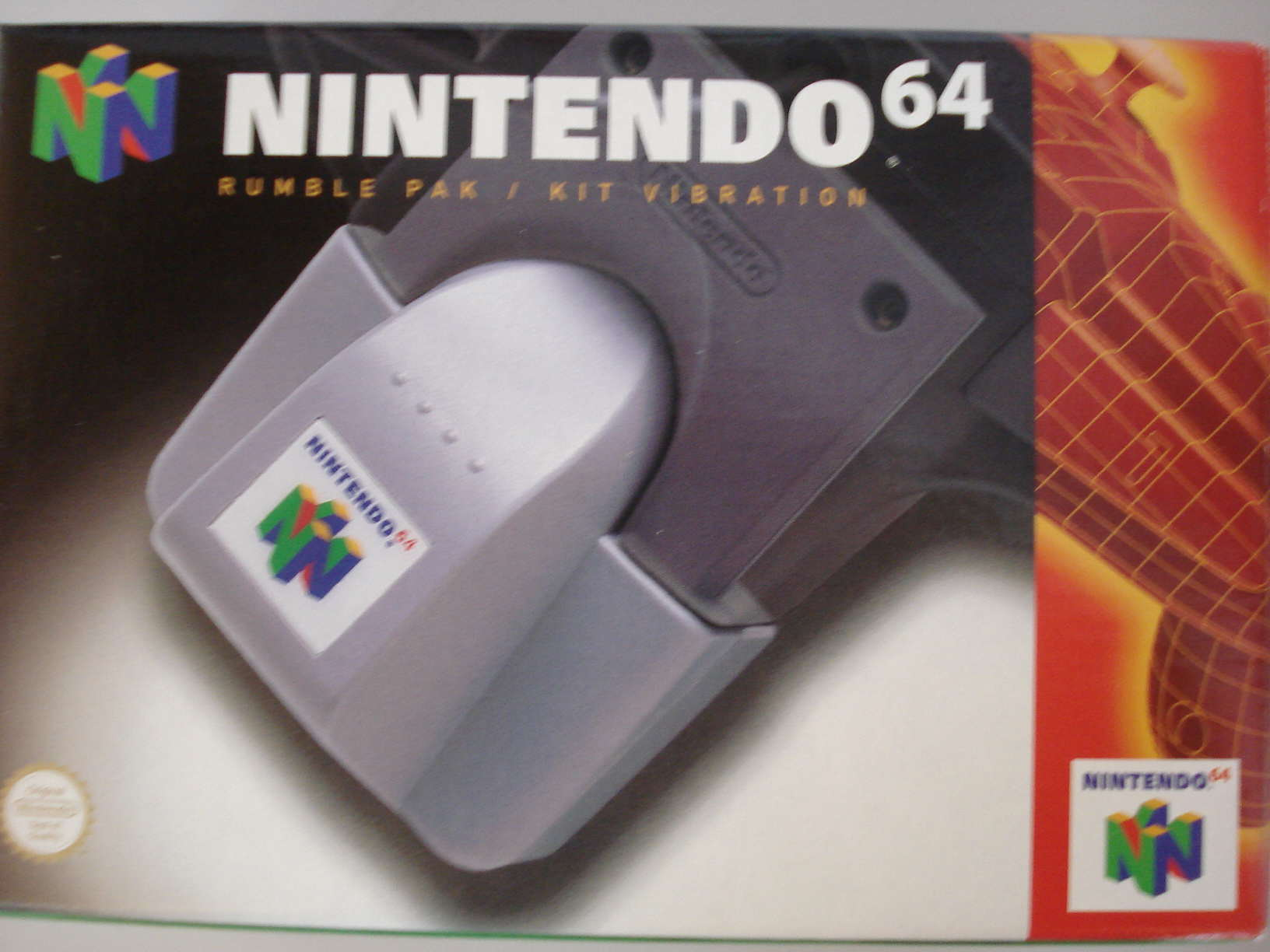 Five Reasons The N64 Was Awesome N64 rumblepack box