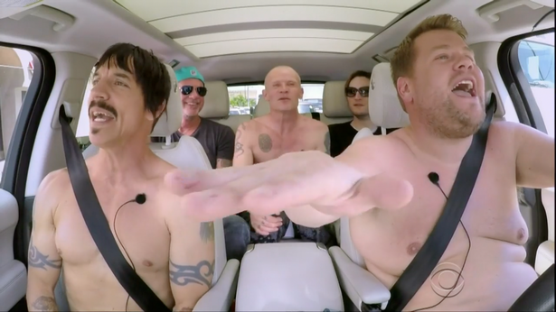 Heres How Carpool Karaoke Saved A Babys Life Red Hot Chili Peppers Carpool Karaoke