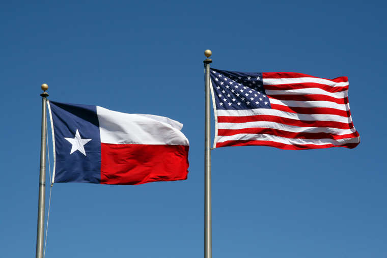 TX US Flags Brexit Has Inspired This State To Consider Leaving The U.S.