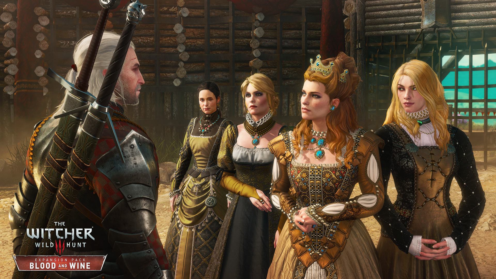 The Witcher 3 Wild Hunt Blood and Wine Anna Henrietta and her entourage RGB EN 1464106314.0 Witcher 3: Blood And Wine Is A Fitting End To Geralts Adventures