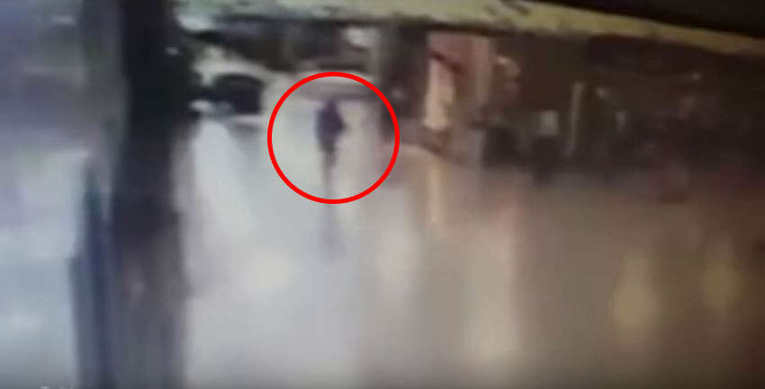 attacker 1 Leaked Footage Shows Moment Police Officer Disarms Airport Attacker Before Bomb Detonates