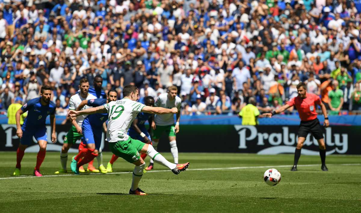 brady3 Elation Turns To Heartbreak for Ireland After Griezmann Masterclass