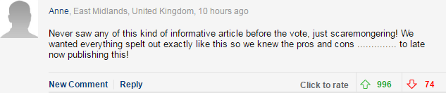 comment1 The Daily Mail Explains What Brexit Means, Readers Seem Shocked