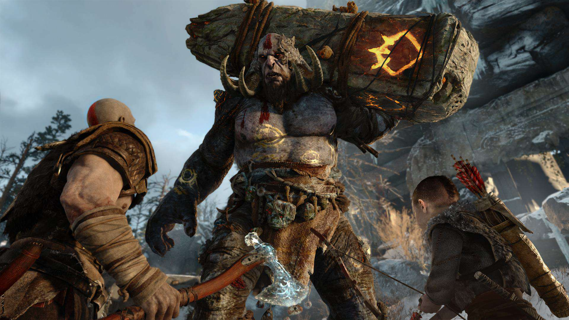 god of war ps4 reveal 1 How The God Of War 4 Team Settled On Norse Mythology