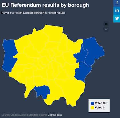 londonmap Brexit Has Pushed Thousands Of Londoners To Take This Extreme Action