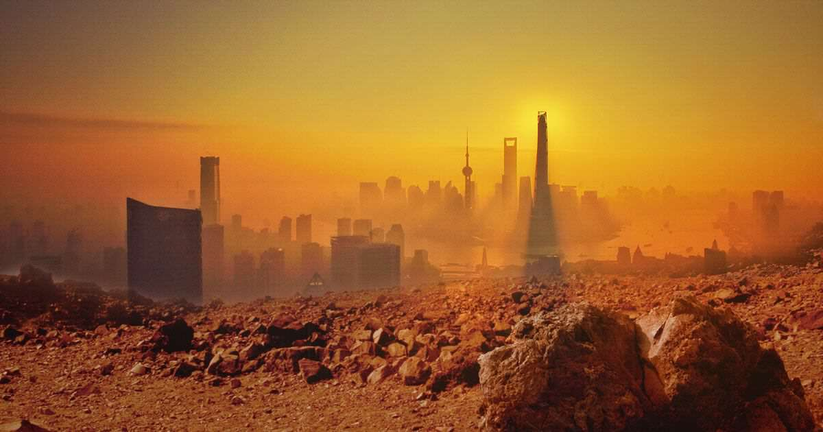 mars44 Conspiracy Theorist Claims NASA Cover Up Of City On Mars
