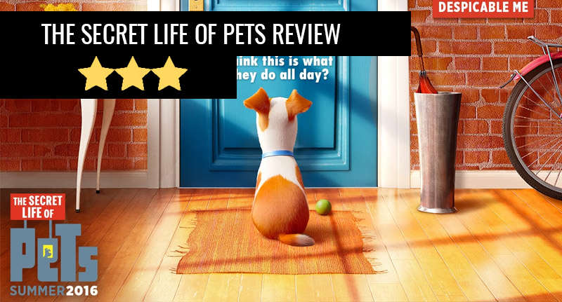 pets review thumb The Secret Life Of Pets: Silly Fun But Far From Purr Fection
