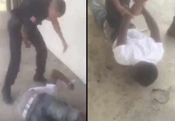 police 3 Shocking Moment Police Officer Bodyslams Young Suspect