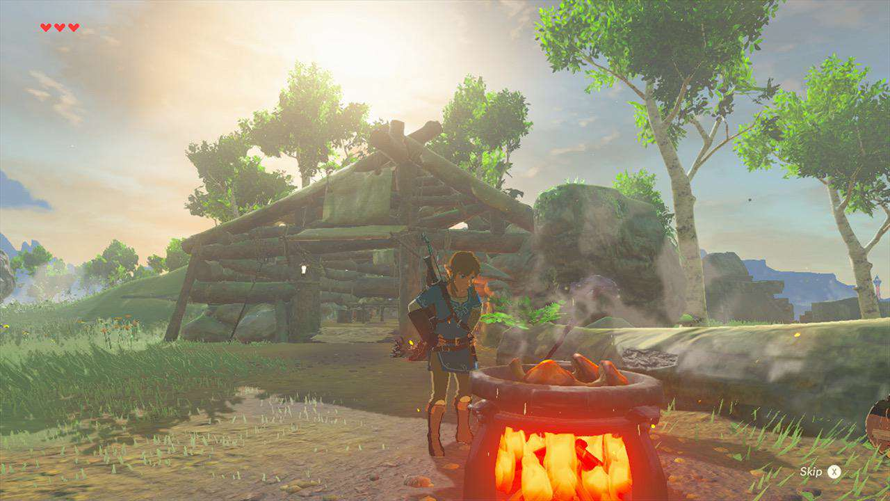 The Legend Of Zelda: Breath Of The Wild Gets Tons Of Gameplay Footage screenshot 3 768
