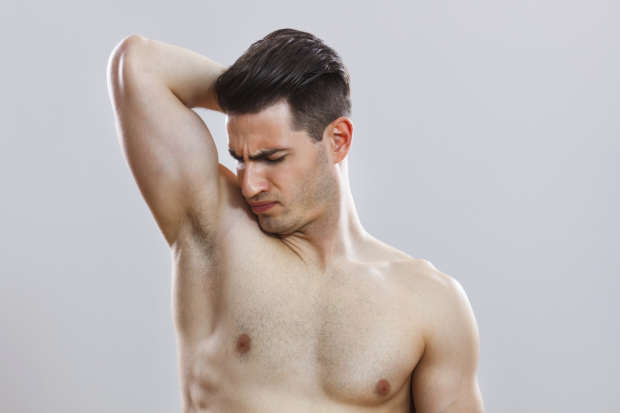 sniffing armpit This Is The One Thing That Attracts Women To Men, According To Science