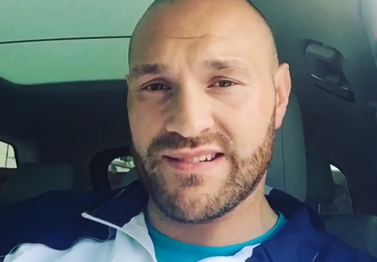 tfury1 Tyson Fury Has Got A Little Bit Of Bad News About Klitschko Fight