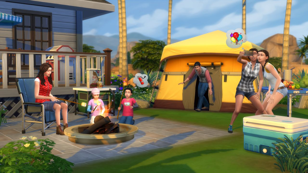 The Sims 4 Gets Flexible New Gender Customization Options the sims 4 outdoor 2