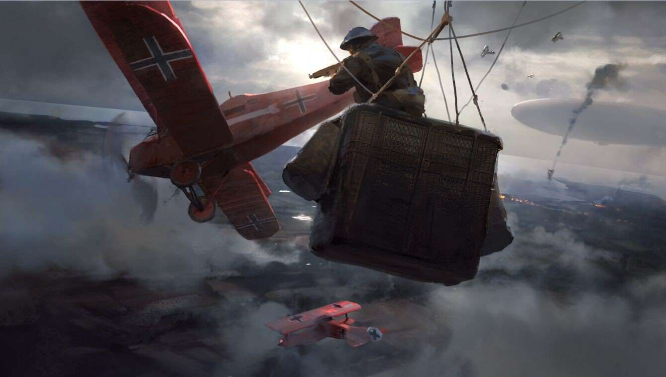 tkCihqy Check Out This Gorgeous Battlefield 1 Concept Art