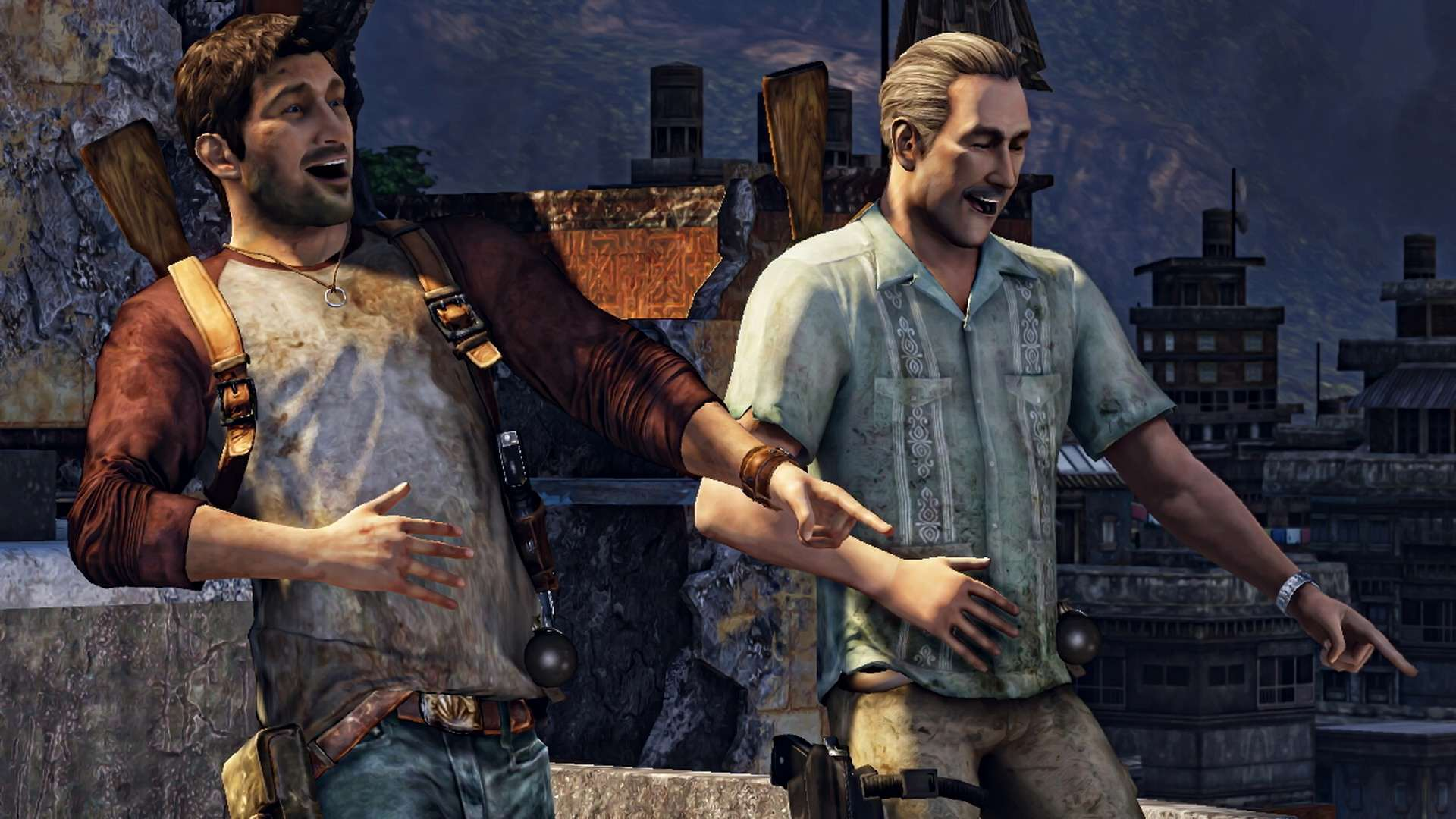 uncharted 2 multiplayer map the highrise 11 nathan sully 1449185608691 Who Should Play Drake In The Uncharted Movie?