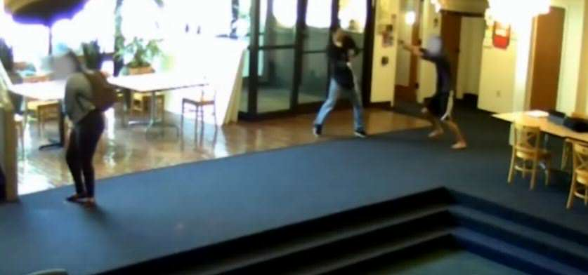 video 1 Footage Shows Student Take Down Gunman At School Shooting
