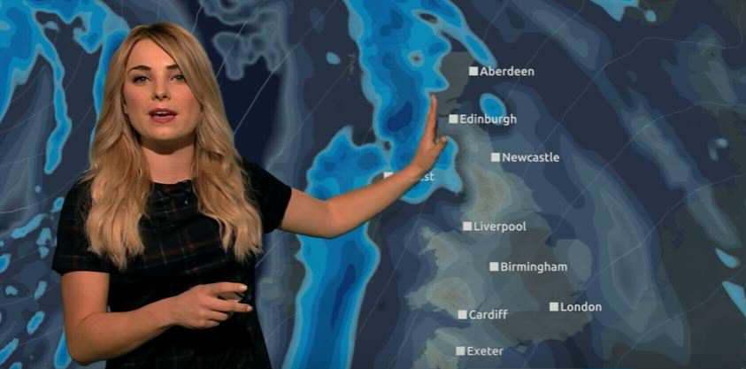 weather 1 Weather Presenter Squeezes Harry Potter Puns Into 70 Second Report