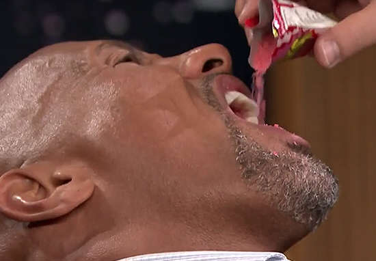 The Rock Gives In And Eats Candy For First Time In Almost 30 Years