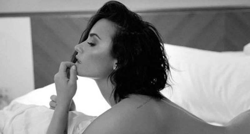 13565347 1066084453465904 745850903 n Demi Lovato Releases Nude Photoshoot For New Track Launch