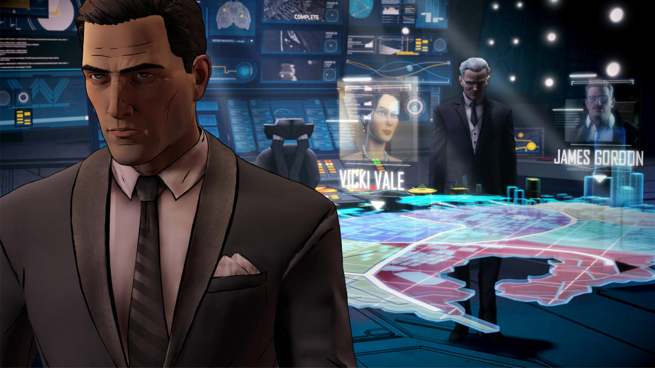 3096734 hologram 1920x1080 Telltales Batman Game Gets Moody First Trailer And Release Date