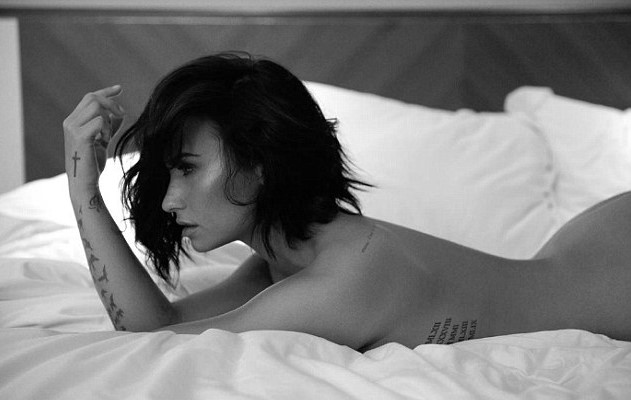 35D7BD7D00000578 3669291 image m 21 1467347810024 1 Demi Lovato Releases Nude Photoshoot For New Track Launch