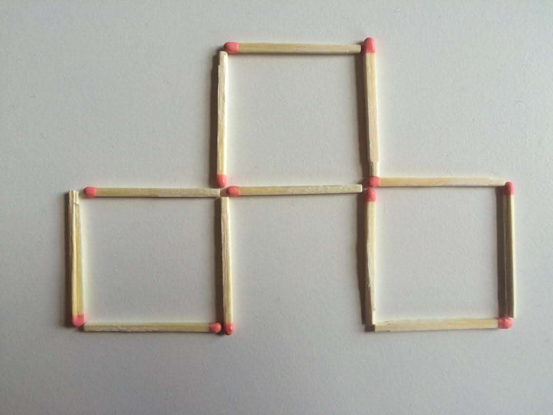 4 This Toothpick Puzzle Is Confusing The Sh*t Out Of The Internet