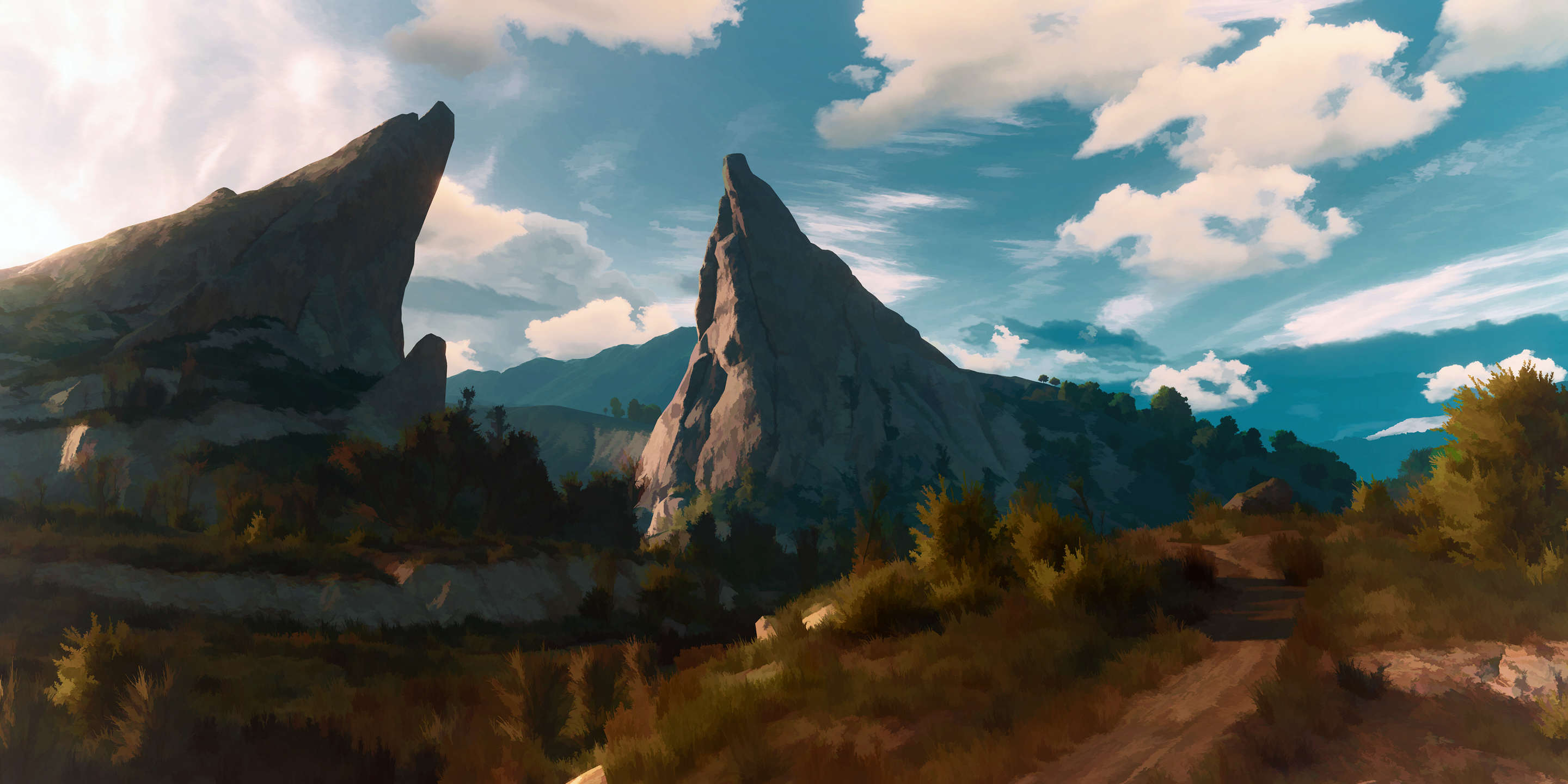 This Guy Turned His Witcher 3 Screenshots Into Works Of Art CDox2wM