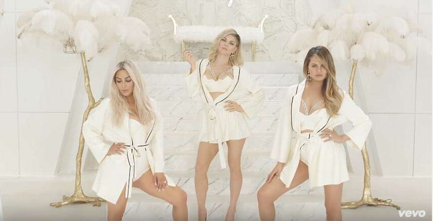 Capture 3 Kim Kardashian Strips Down And Douses Herself In Milk For MILF Music Video