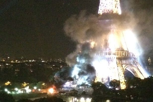 Eiffel Tower fire ISIS Show Theyll Claim Responsibility For Anything After Latest Propaganda Video
