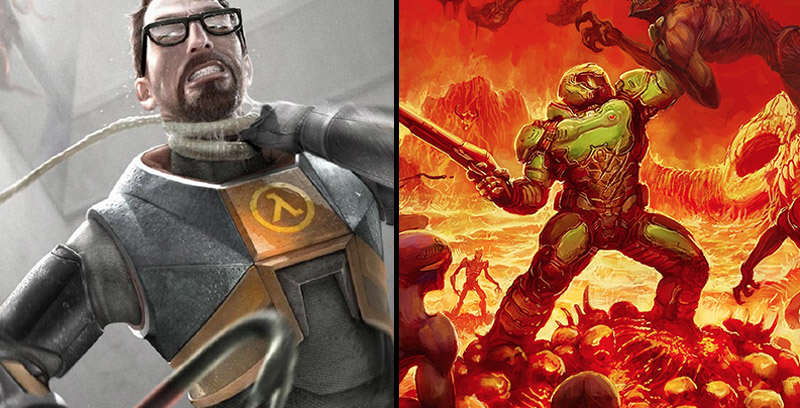 FacebookThumbnail 20 Half Life Recreated In DOOM Is Pretty Awesome