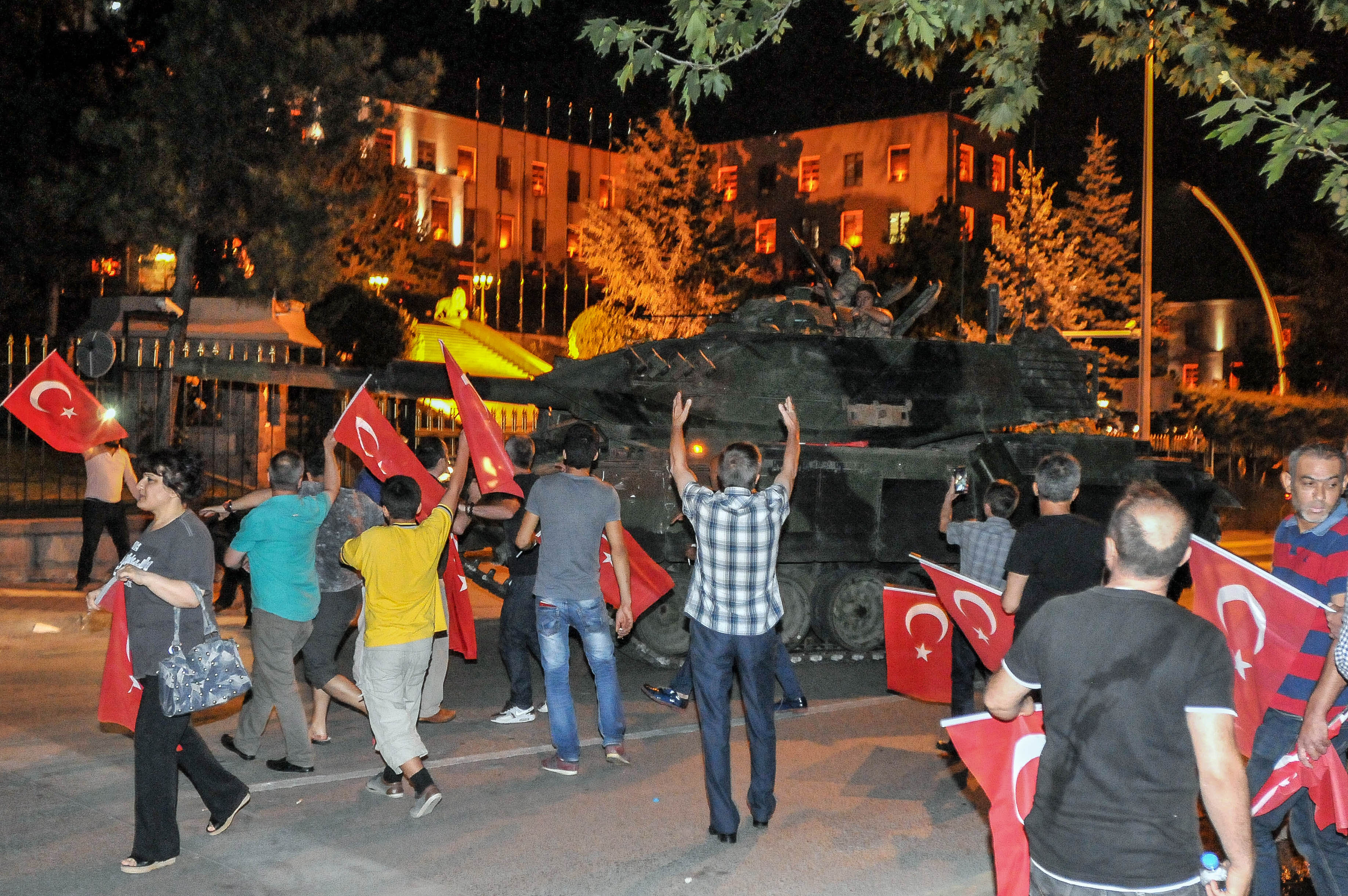 GettyImages 576527604 Turkish President Claims Government Back In Control After Military Coup Fails