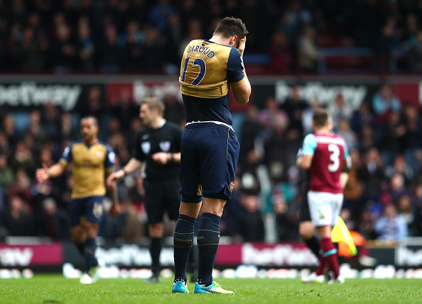Giroud sad getty Arsenal Abandon Higuain Hopes With French Forward Their Top Priority