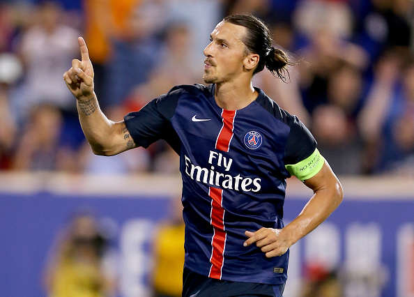 Zlatan Reveals Which United Legend Convinced Him To Join The Club Ibra Getty