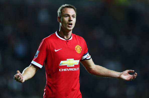 Jonny Evans Getty Wenger Eyes Former United Defender After Mertesacker Injury