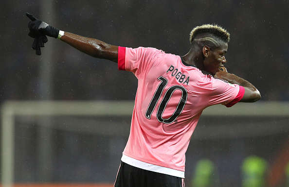 Manchester United Handed Fatal Blow In Pogba Chase? Pogba Dab Getty 2