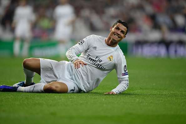 Cristiano Ronaldo Loses The Plot With Seriously Over Enthusiastic Fan Ronaldo getty