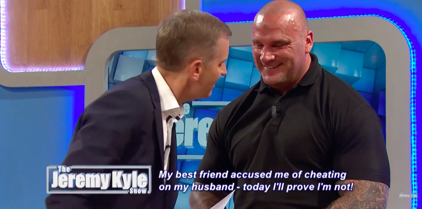 Screen Shot 2016 07 12 at 14.57.16 1 Jeremy Kyle Repeatedly Asks Bouncer Steve Awkward Sex Questions In Cringe Video